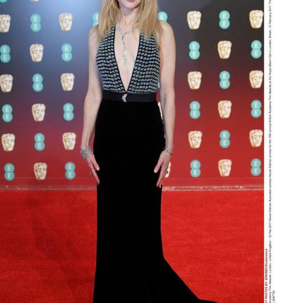 NICOLE KIDMAN'IN BAFTA'DAKİ TERCİHİ: ARMANI PRIVÈ