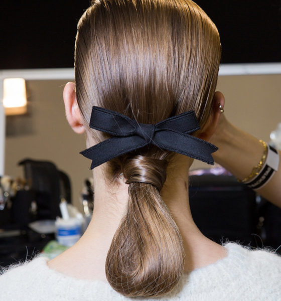 Moda haftalarında dikkat çeken saç stilleri